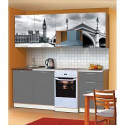 "Кухня ""Диана 8"" 210см МДФ"