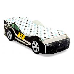 """Кровать-машина """"Супра"""" черная"""